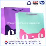 Place du papier d'impression couleur Shopping sac cadeau pour l'emballage