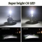 C6 COB 9004 9007 H13 Lâmpadas LED