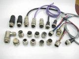 M23 12 Pin 여성 현장 조립 방수 IP67 연결관