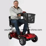 年配者のための情報処理機能をもったシステムが付いている電気移動性のスクーター