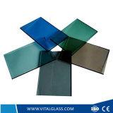 CE&ISO9001の3-10mm着色された反射ガラス
