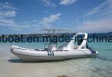Liya 6.2m жесткие надувные лодки с подвесным мотором конкурентоспособной цене