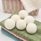 100% feutre de laine Sécheur sécheur bille/blanchisserie Ball pour machine à laver