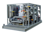 Sistema RO tipo contenedor planta de desalinización de agua salada