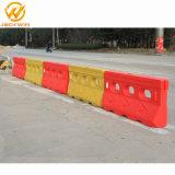 Barrière de sécurité du trafic de l'eau jaune SM-001une barricade en plastique