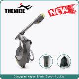 Máscara fácil do Snorkel da face cheia da respiração com ângulo de visão largo e montagem de Gopro