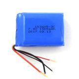 103445 pacchetto della batteria del polimero del litio di tasso di scarico di 7.4V 1500mAh 3c