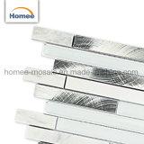 Mozaïek van het Glas van Backsplash van de Keuken van de Baksteen van het Ontwerp van het aluminium het Mooie