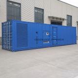 groupes électrogènes diesel silencieux de 1000kVA Containerlized actionnés par Cummins Engine