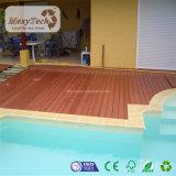 Decking indonésien composé imperméable à l'eau populaire bon marché de bois dur de WPC