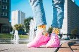 Neuheit-lustige Mannschafts-Socken der Frauen Baumwoll