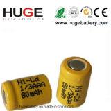 bateria Ni-CD de 1.2V 1/3AAA 80mAh