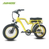 نمو تصميم [250و] إطار العجلة سمين دراجة كهربائيّة مع مقعد مريحة لأنّ عمليّة بيع