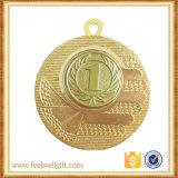 medallas de aluminio de la divisa de 25m m de encargo