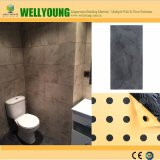 Корка и ручка быстро для того чтобы установить панели PVC Vinly Caldding стены