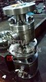 造られたステンレス鋼3PCの完全な気孔のフランジの球弁