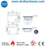 170x170мм рукоятка рычага переключения передач с пластиной для ванной комнаты (DDTP001)