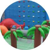 Kundenspezifischer riesiger aufblasbarer Plättchen-Prahler Plättchen-aufblasbares Plättchen des 1000 FT-Beleg-N das Stadt-kommerzielle aufblasbare Schloss-Plättchen