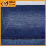 Яркая голубая сплетенная ткань джинсовой ткани для джинсыов и шинели