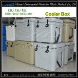 LLDPE Plastikkühlvorrichtung-Kasten mit 22L, 32L, 52L