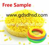 El colorante amarillo de Masterbatch del PE para el plástico granula el moldeo a presión de la impresión 3D