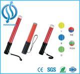 LEDのトラフィックのストロボのバトンライト安全拡張可能バトンのフラッシュライト