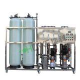 Ручное управление водой очистки машины с помощью системы обратного осмоса