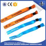 Wristband de encargo barato del festival para el partido