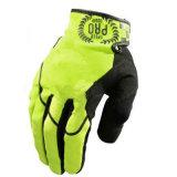 Мотоцикл перста желтого нового качества полный участвуя в гонке перчатка спортов (MAG66)