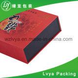 Imprimé à la main de luxe personnalisé de la charque emballage carton boîte cadeau de papier
