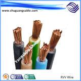 Câble de commande examiné par Insulatede de PE