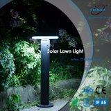 LED de aluminio de fundición solar césped iluminación para jardín