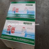 Pianura o strati elettrolitici stampati della latta