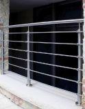 De Duw van het Traliewerk van het Balkon van het roestvrij staal in Montage/de Montage van de Pijp