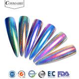 Polvere olografica del pigmento di arte del chiodo del Chameleon di effetto degli specchi del pavone