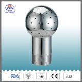 Aço inoxidável sanitárias fixadas bola limpeza fixa (DIN -NM120202)