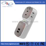 Fasten Ladung Wechselstrom-Kontaktbuchse mit USB-Kanälen für Handy