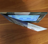 Scheda A5 7 dell'opuscolo di promozione di memoria di MSDS 128MB video '' con Blankbackdrop per il bene immobile di vendita