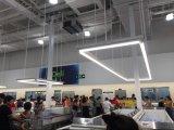 LED-linearer LED heller nahtloser Anschluss LED des linearen hellen modernen Innenministerium-Freiheits-Entwurfs-, derlineare Lichter für Einkaufszentrum hängt