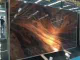 &Tile 석판을%s 자연적인 호화스러운 빨간 대리석