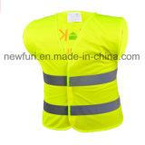 Maglia di visibilità dei vestiti riflettenti del cappotto di sicurezza dei bambini del Ce En1150 alta