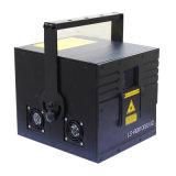 Os lasers do Natal mostram a laser pequeno da luz a única iluminação da cortina do laser do azul