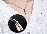 De nieuwe Minnaars van het Staal van het Titanium van de Juwelen van de Tegenhanger van de Halsbanden van de Manier koppelt de Tegenhanger van het Roestvrij staal van de Halsband