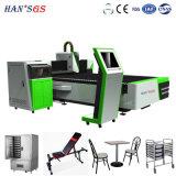 Machine de découpage de laser d'acier inoxydable de la vitesse rapide 3015 2mm