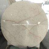 Dessus de marbre normal de table ronde pour la salle à manger