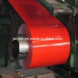 Material de Aço Cor SGCC Building Material dx51d PPGI PPGL SS40 bobina de aço com revestimento de cor