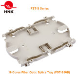 Tipo bandeja óptica del Fst-S de 16 memorias del empalme de fibra