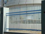 High-Quality Элегантные декоративные оцинкованной стали саду через забор 4-4