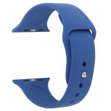 Bandes d'Iwatch de bande et de remplacement de montre d'Apple de silicones