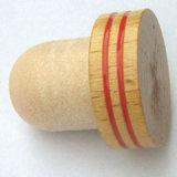 بلاستيكيّة غطاء فلّين خمر [بروون] خشبيّة اصطناعيّة زجاجة موقف